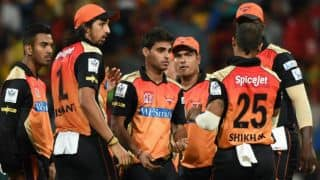 Bhuvaneshwar Kumar leads Sunrisers Hyderabad to emphatic 32-run win against Rajasthan Royals in IPL 2014