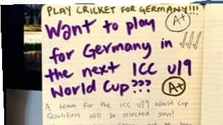 Germany Cricket surprises fraternity with most unique job offer!