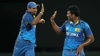 Thisara Perera claims hattrick against India in 2nd T20I at Ranchi