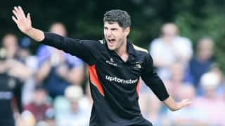 T20 Blast: South Africa's Colin Ackermann claims T20 world record seven wickets