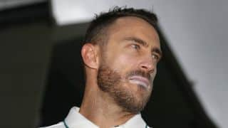 South Africa accuse Australian media for harassing Faf du Plessis