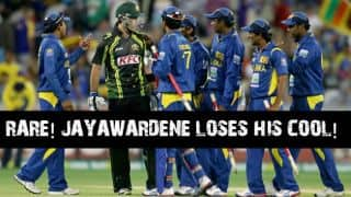 RARE VIDEO: Mahela Jayawardene loses his cool!