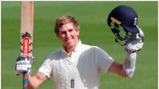 Zak Crawley becomes England's youngest No.3 batsman to score a double century in Test cricket