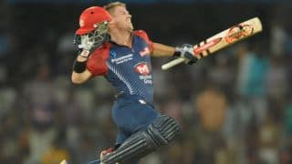 IPL 2012: David Warner pummels Deccan Chargers with a masterly 54-ball 109
