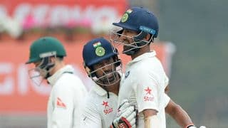 India vs Australia 3rd Test: Wriddhiman Saha in exchange of words with Josh Hazlewood