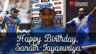 Sanath Jayasuriya turns 45