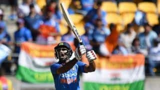 5th ODI: Ambati Rayudu, Hardik Pandya help India to 252