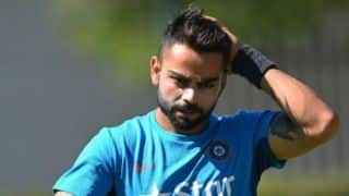 Virat Kohli returns to practice