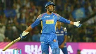 Samson applauds Gowtham's innings against MI