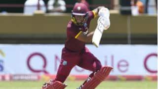 Shai Hope's healthy 71 steers West Indies to 233-9 against Pakistan in 3rd ODI