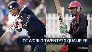 Live Cricket Score, ICC World Twenty20 Qualifier 2015, July 16, SCO vs CAN: Scotland win by 8 wickets
