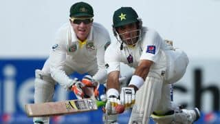 Pakistan vs Australia 2014: Misbah ul-Haq hits fastest fifty as Pakistan get 519-run lead at lunch on Day 4 of 2nd Test