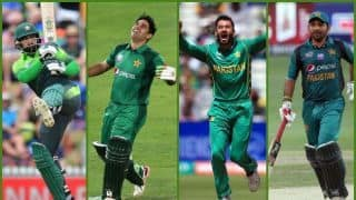 Pakistan World Cup squad: No Mohammad Amir or Asif Ali, Junaid Khan in