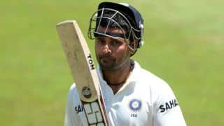 India vs New Zealand, 1st Test, Day 3: India lose Murali Vijay after steady start; score 46/1