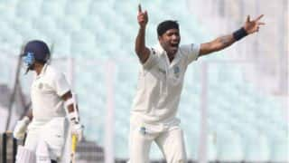 Ranji Trophy 2017-18, Round 7, Day 2 Highlights, Group D: Vidarbha on top; Goa, Services struggle