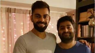 Virat Kohli: Meeting Arijit Singh a 'fan-boy' moment