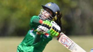 Abidi's unbeaten 37 propel PAK to 97-7 vs IND in Women's Asia Cup T20
