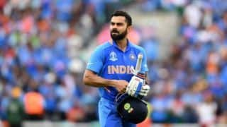 Cricket World Cup 2019: I am disappointed not to get any game time at all, says Virat Kohli