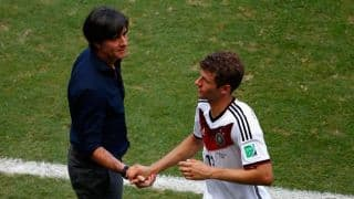 Joachim Loew praises Thomas Mueller, hints changes against Ghana