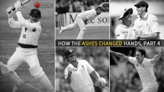 History of Ashes: How the urn changed hands, Part 4 of 4, the game changes