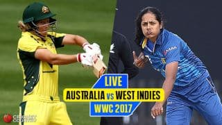 Live cricket score, AUS vs SL, ICC WWC 2017: Polgampola goes for 6