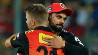 IPL 2017: Virat Kohli and I are still good friends, says David Warner