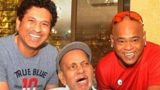 Sachin Tendulkar reveals how late childhood coach Ramakant Achrekar changed his life