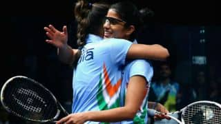 India after beating China reached the semis in squash.