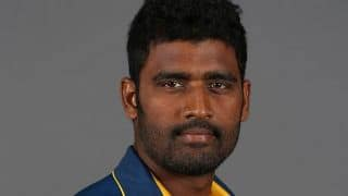 Thisara Perera becomes 14th Sri Lankan to take 100 ODI wickets