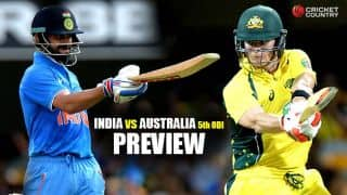 India vs Australia 2015-16, 5th ODI at Sydney, Preview: All-conquering hosts look for 5-0 clean sweep