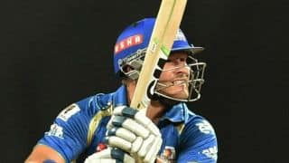 Champions League T20 Live Cricket Scoreboard: Mumbai Indians vs Southern Express CLT20 2014 4th Qualifying Match at Raipur