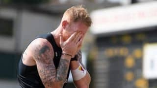 England Allrounder Ben Stokes Finishes Last in Virtual Formula One on Debut