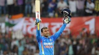 on this day in 2011 virender sehwag smashed double hundred in odi cricket he became 2nd man to do so