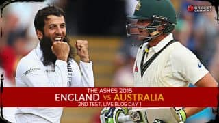Live Cricket Score England vs Australia, The Ashes 2015, 2nd Test at Lord's, Day 1 AUS 337/1: Rogers, Smith make it Australia's day