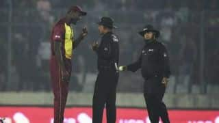 'Everyone saw that it was not a no-ball'- Brathwaite blasts umpires
