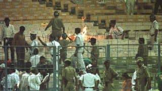 World Cup 1996 semi-final, India vs Sri Lanka: Eden Gardens brings shame to nation