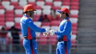 5th ODI: Asghar Afghan, Mohammad Nabi push Afghanistan to 216