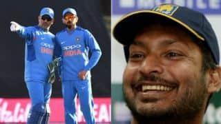 MS Dhoni's presence will help Virat Kohli during World Cup 2019: Kumar Sangakkara