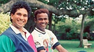 Sachin Tendulkar turns lyricist on Vinod Kambli's birthday