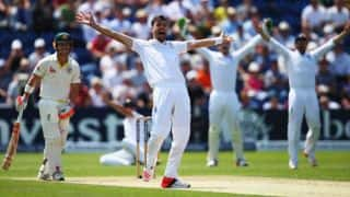 James Anderson takes 6/47 as England rout Australia for 136 on Day One of 3rd Ashes 2015 Test at Edgbaston