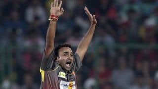 Amit Mishra becomes second bowler to reach 100 IPL wickets