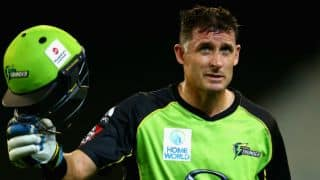 Michael Hussey talks about his decision to retire from Big Bash League