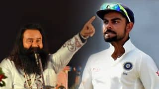 VIDEO: Gurmeet Ram Rahim Singh shockingly claims to have trained Virat Kohli
