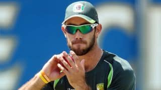 Glenn Maxwell chats with his father about cricketing tours