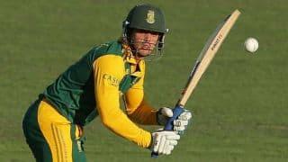 Australia vs South Africa 2014: Quinton de Kock scores his 6th ODI century