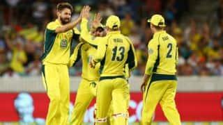 India vs Australia 2015-16, 5th ODI at Sydney: Host's likely XI