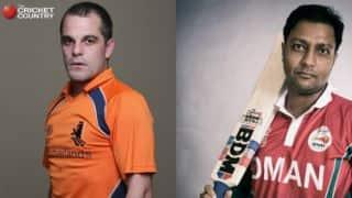 Live Cricket Score, Netherlands vs Oman, Desert T20 2017: NED win by 5 wickets