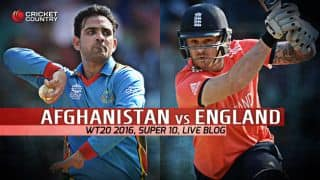 AFG 127/9   Over 20   TARGET 143   Live Cricket Score, England vs Afghanistan, T20 World Cup 2016 ENG vs AFG, 24th T20 Match at Delhi, ENG win by 15 runs
