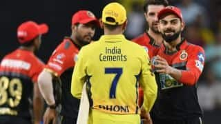 In Pictures: CSK vs RCB, IPL 2018