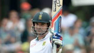South Africa vs West Indies 2014-15: Dean Elgar scores his third Test century